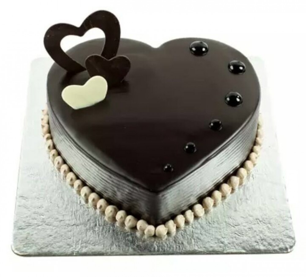 Heart Chocolate Cake Wedelivergifts