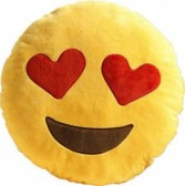 heart smiley pillow