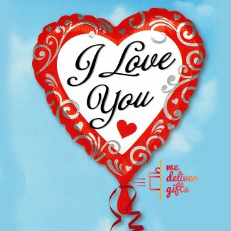 Fancy Love - I Love You Foil Balloon XL