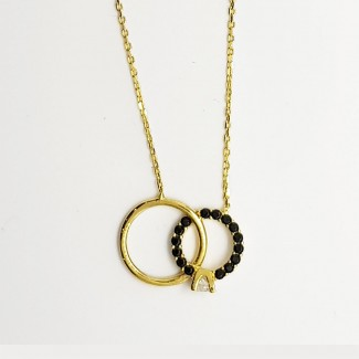 Do  You Marry me Gold Necklace
