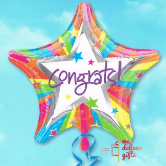 Congrats Star Balloon