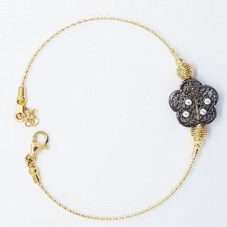 Semi Circle Stone Bracelet