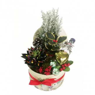 Poliakov vodka Winter Arrangement