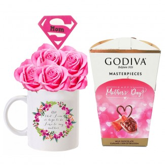 My Super Mom Sweetmeat Godiva and Rose