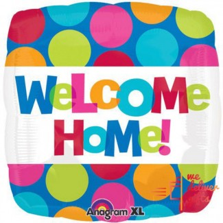 Square Welcome Home Single Balloon