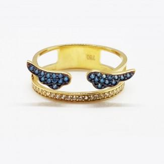 Blue Wings Ring