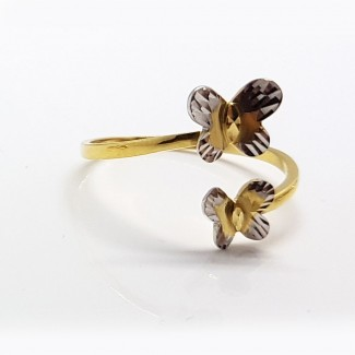 Butterfly Gold Ring