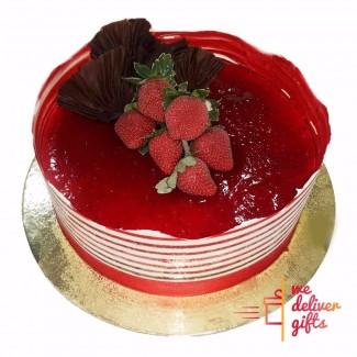 Crown Choco-Fraise Cake