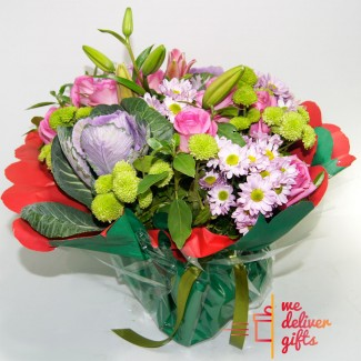 Simple Flowers Selection Bouquet