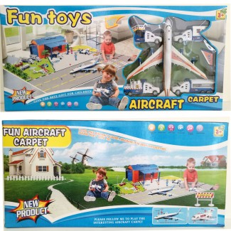 Aircraft Carpet Toy