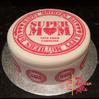Super Mom Love Cake