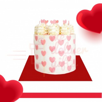 Pink Heart Valentino