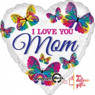 Helium Saver Jumbo Love You Mom..