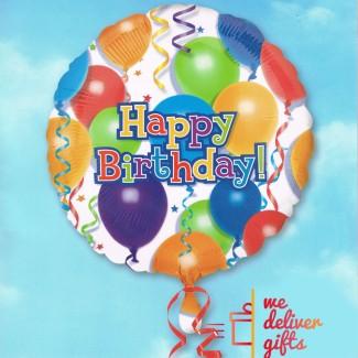 Balloons n Stars Happy Birthday
