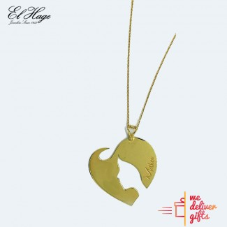 Mother Heart Gold Chain
