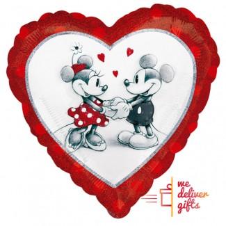 Mickey's Mouse Heart Love Balloon