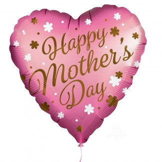 Satin infused Mothers Day Balloon