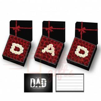 Dad Letter Flower