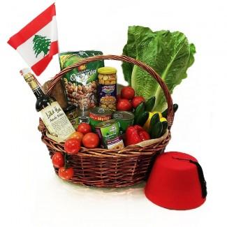 Arak and Lebanese Mezza Basket