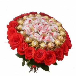 Raffello Ferrero Rose Bouquet