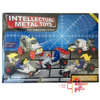 Metal intellectual toys