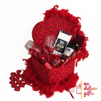 Be Mine Forever Valentine package