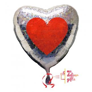 Double Love Heart Love Balloon