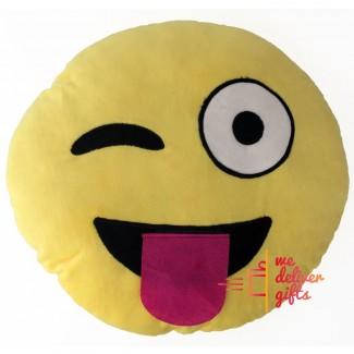 Smiley Emoticon Pillow