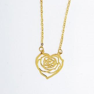 Roses Gold Pendant