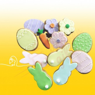 Easter Cookie Selection