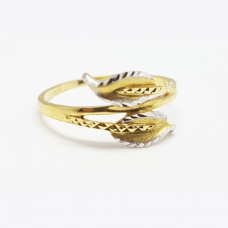 Leaves Gold Ring