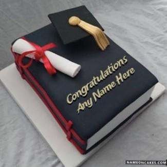 Special Graduation Cake