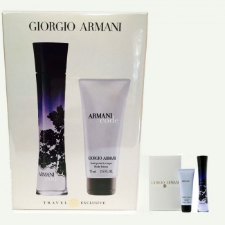 Giorgio Armani Code Eau De Parfum Spray for Women Gift Set
