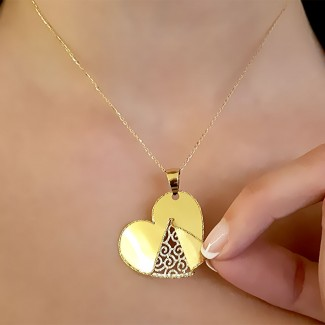 B Albi - In My Heart - Gold Neckless