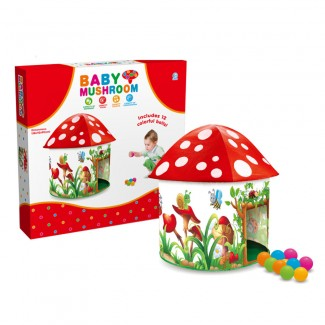 BABY Mushroom folding child play tent kids