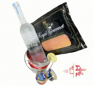 Gourmet Salmon and Caviar