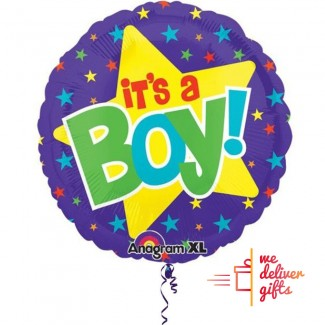 Its a Boy Foil Balloon