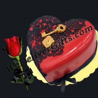 2albi wou Mouftahou Cake