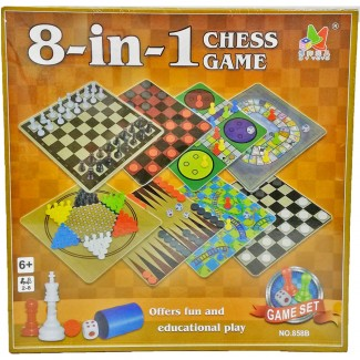 8 in 1 Chess Game
