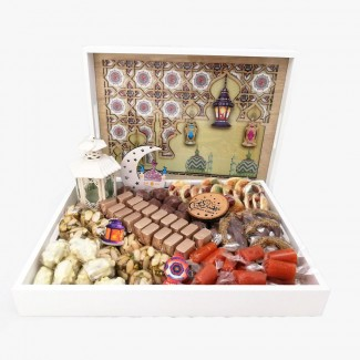 Ramadan gift Chocolate and Malban Tray