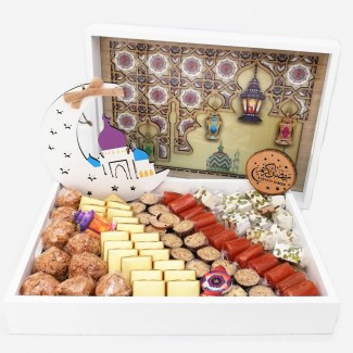 Ramadan Luxurious Choco and Malban Tray