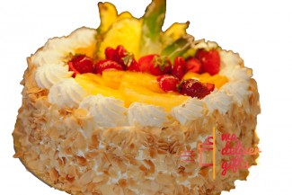 White Forest - Exotic Fruits Cake
