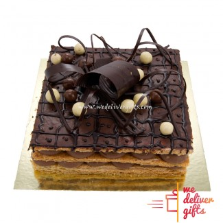 Mille Feuilles Chocolate Cake