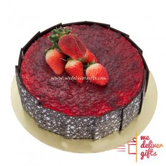 Choco fraise Cake
