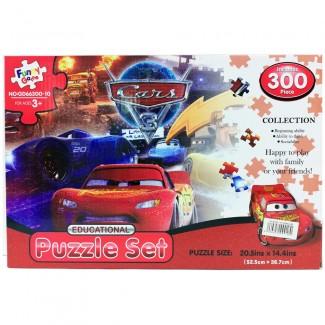 Cars Puzzle Set