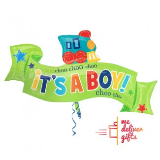 Choo Choo It s a Boy Balloon