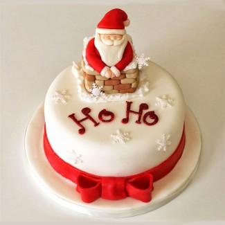 Santas Cake