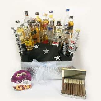 Alcohol Lover Selection Basket