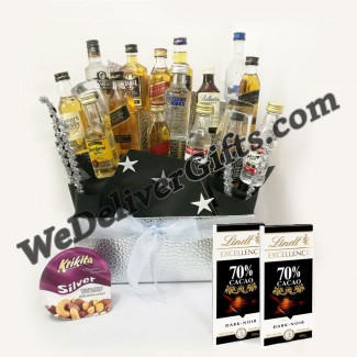 Alcohol Lover Selection Basket