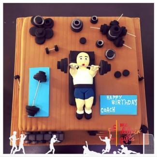 Coach Special Cake